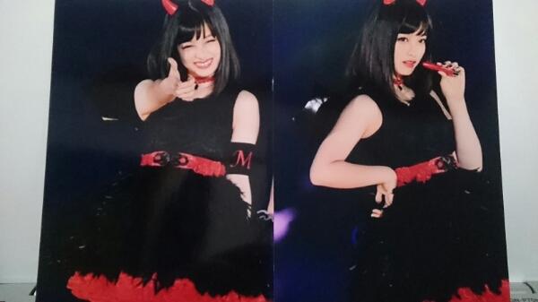 橋本環奈☆悪魔カンナ生写真2枚セット2