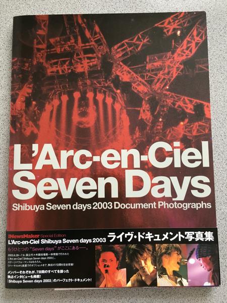SevenDays写真集/L'ArcラルクhydeVAMPSパンフライブグッズ