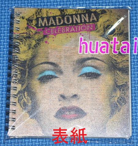 ◆非売品◆MADONNA マドンナ Celebration 発売告知ノート