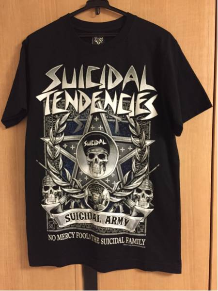 美品 SUICIDAL TENDENCIES Tシャツ サイズM NEW TYPE SYSTEM