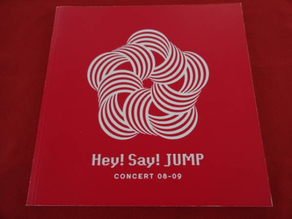 r★パンフレット/ Hey!Say!JUMP Hey! Say! Jump-ing Tour '08-09