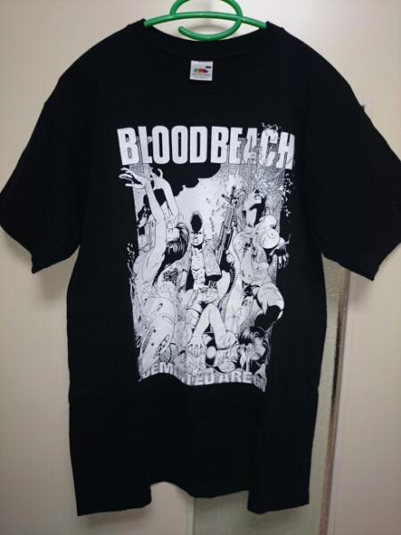 Demented are go Bloodbeach T-shirts S サイコビリー