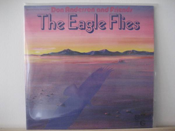 □Don Anderson/Eagle Flies□独AOR BLUESY ROCK!1_画像1