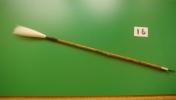 筆 奈良筆 羊毛筆 細光鋒 長鋒 水牛ダルマ  支那竹の軸