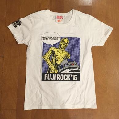 フジロック 15 BEAMS Tシャツ ビームス C3PO R2D2 STARWARS スターウオーズ 2015 fujirock fuji rock Tee 岩盤 場内1 早割 フェスティバル