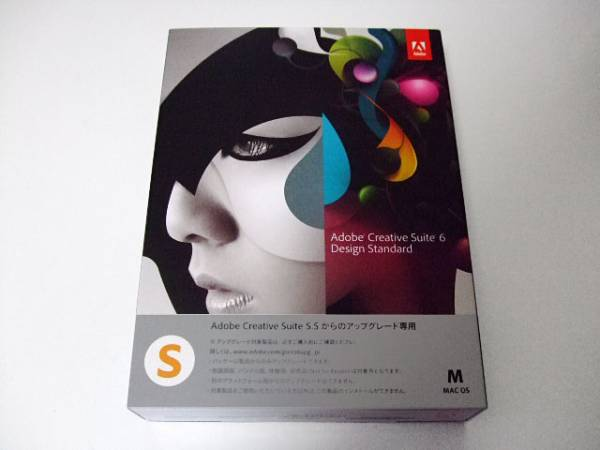 Adobe Creative Suite 6 Design Standard Mac(Illustrator CS6, Photoshop CS6, InDesign CS6, Acrobat X Pro etc...)【譲渡可/美品】