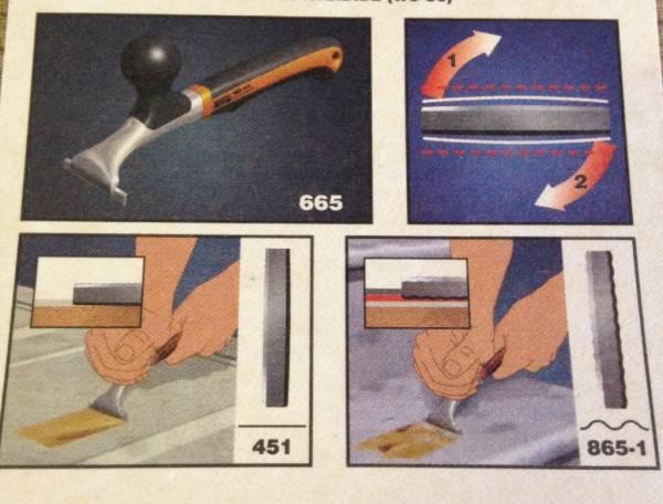 BAHCO 超硬刃付スクレーパー #665_画像3