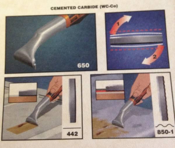 BAHCO サンドビック 超硬刃付スクレーパー #650_画像3