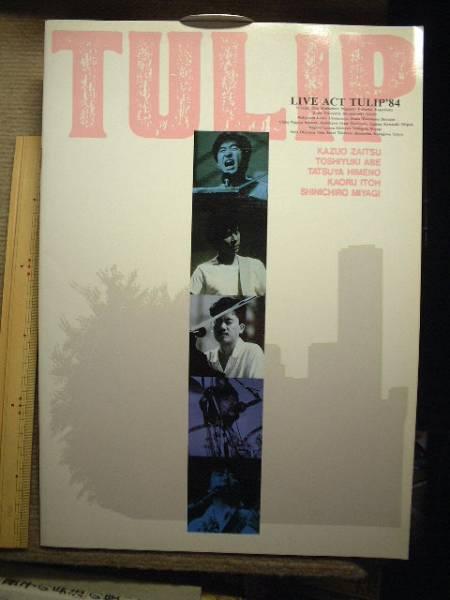 ライブ,アクト,チューリップ1984コンサートパンフ 財津和夫