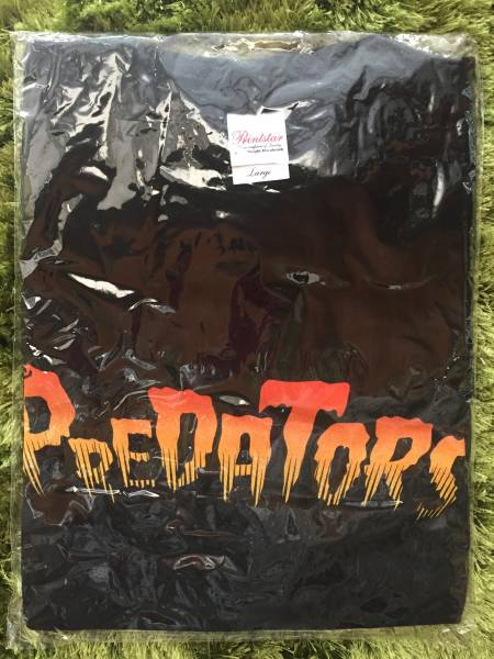 THE PREDATORS(プレデターズ) - Tシャツ(山中さわお・JIRO) (新品袋入り・非売品) レア!!!