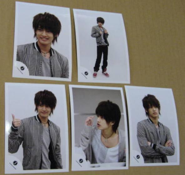 中山優馬 写真5枚 2010/ 8 発売 公式 ショップ