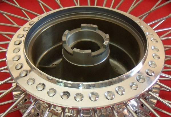 1959~1979年式モデル HONDA ホンダ スーパーカブ ホイール前後セット 72本 クロススポーク+ベアリング前後セット_1980年式以降(適合しません)