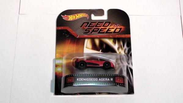 本当に迅速発送(評価見てください)  Hot Wheels ケーニグセグ アゲーラ R HW 即決価格  need for speed  スーパーカー1