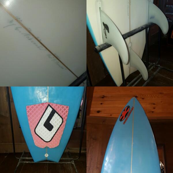 中古 ソウルライダースサーフボード 180cm_画像3