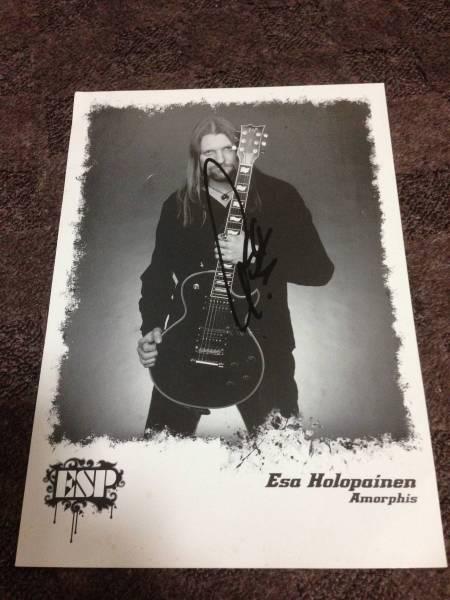[Amorphis] Esa Holopainen 直筆サイン