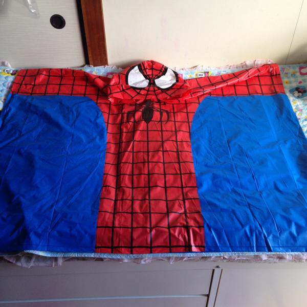 ユニバーサル USJ スパイダーマン レインコート ポンチョ