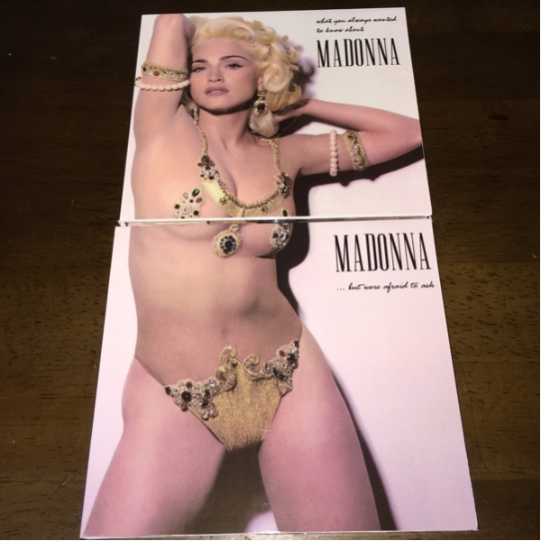 2CDセット!MADONNA/マドンナ/WHAT YOU ALWAYS WANTED TO KNOW~_画像1