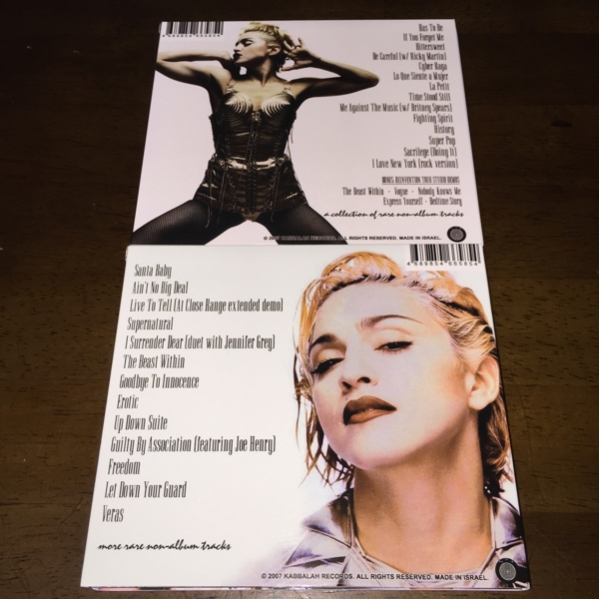 2CDセット!MADONNA/マドンナ/WHAT YOU ALWAYS WANTED TO KNOW~_画像2