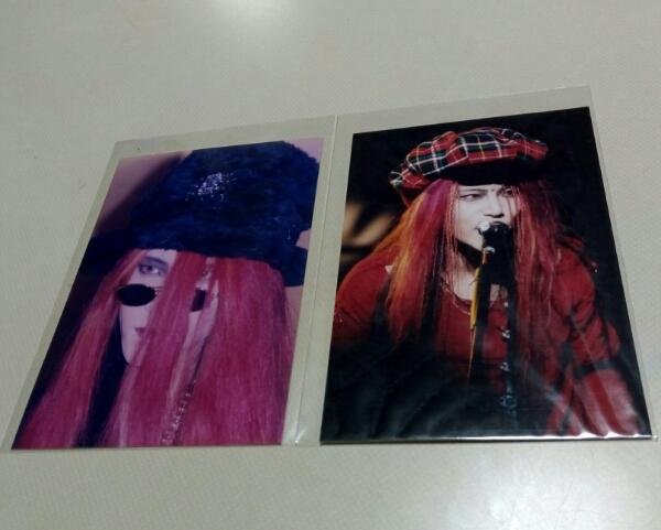 hide 写真 X JAPAN 2枚セット