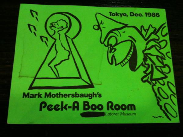 DEVO マーク マザーズボウ メッセージカード 86年 ラフォーレ