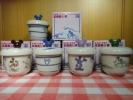 ◆非売品◆ミッキー◆茶碗蒸し器◆全4種◆5個セット◆