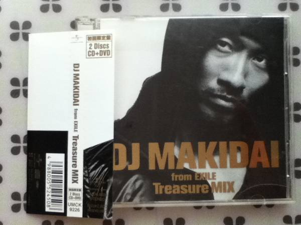 CD+DVD DJ MAKIDAI from EXILE「Treasure MIX」帯付き_画像1