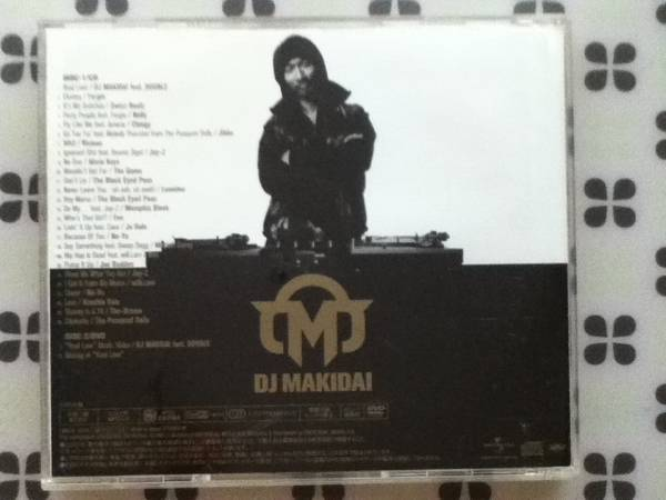 CD+DVD DJ MAKIDAI from EXILE「Treasure MIX」帯付き_画像3