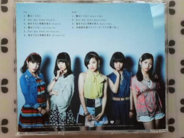 CD+DVD AKB48「翼はいらない」初回盤 TYPE A 帯付き_画像3