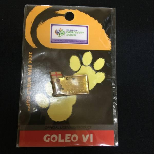 2006 ワールドカップ GOLEO VI ピンズ