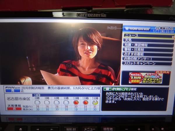 送料無料・美品!AVIC-ZH9000☆2010年第2版更新済み!ZH9990同等_室内でもフルセグ地デジ&『dボタン』表示