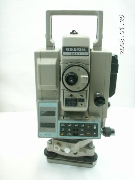 80127測量☆ SOKKIA ☆ ソキア トータルステーション(光波)SET4(ジャンク扱い)_画像2