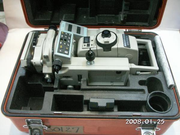 80127測量☆ SOKKIA ☆ ソキア トータルステーション(光波)SET4(ジャンク扱い)_画像3
