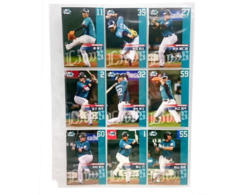 ◆西武ライオンズ◆エメラルドユニフォーム選手カード1セット◆ グッズの画像