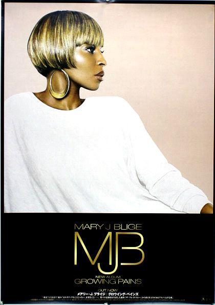 MARY J BLIGE メアリー・J・ブライジ B2ポスター (W09006)
