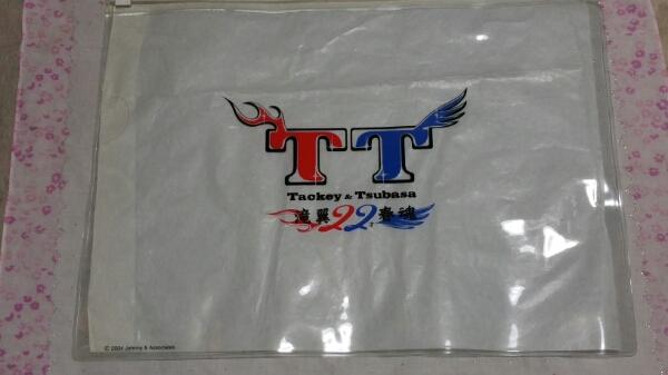 タッキー&翼2004年ライヴコンサートグッズTシャツ&クリアケース