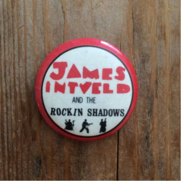JAMES INTVELD AND THE ROCKIN' SHADOWS 缶バッチ ロカビリー