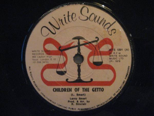 ■Leroy Smart/Children Of The Getto■KILLER ROOTS!