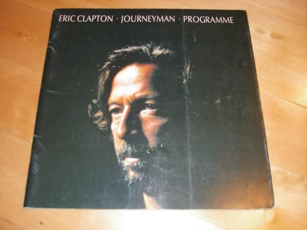 ERIC CLAPTON/パンフ/1990 JOURNEYMAN エリック・クラプトン