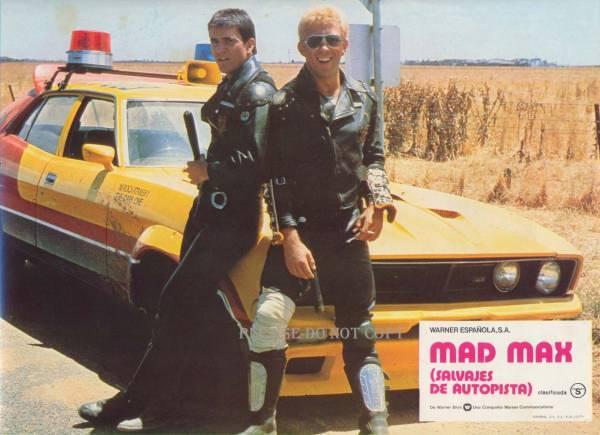 1979年 マッドマックス スペイン語 ロビーカード