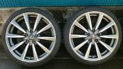 レクサス IS-F純正オプションアルミホイール&タイヤ2本セット