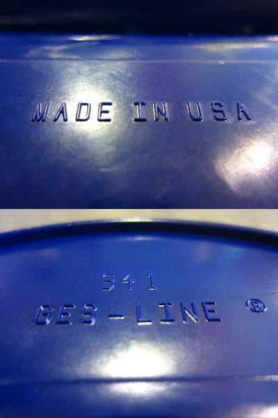 ビンテージ60's★GES-LINEアシュトレイ青紫★50's70's雑貨灰皿卸_画像3