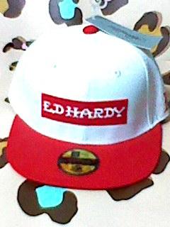 Ed Hardy エドハーディー キャップ 帽子 白 本物 NewEra 好きに_画像1