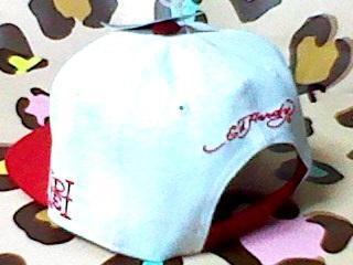 Ed Hardy エドハーディー キャップ 帽子 白 本物 NewEra 好きに_画像2