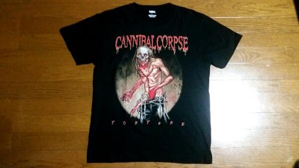 CANNIBAL CORPSEカンニバルコープス2012年日本公演限定Tシャツ