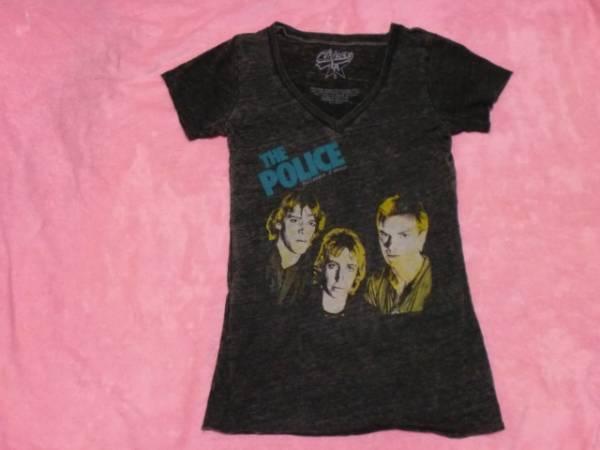 THE POLICE ポリス Tシャツ 女性用 S バンドT ツアーT ロックT
