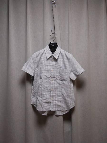 トリコ コムデギャルソン ギンガムチェックのシャツ_画像1
