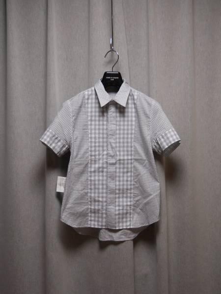 トリコ コムデギャルソン ギンガムチェックのシャツ_画像3