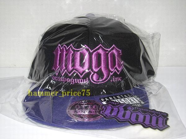 RUDIE'S x 最上もが MAVERICK SNAPBACKCAP キャップ 黒x紫 新品