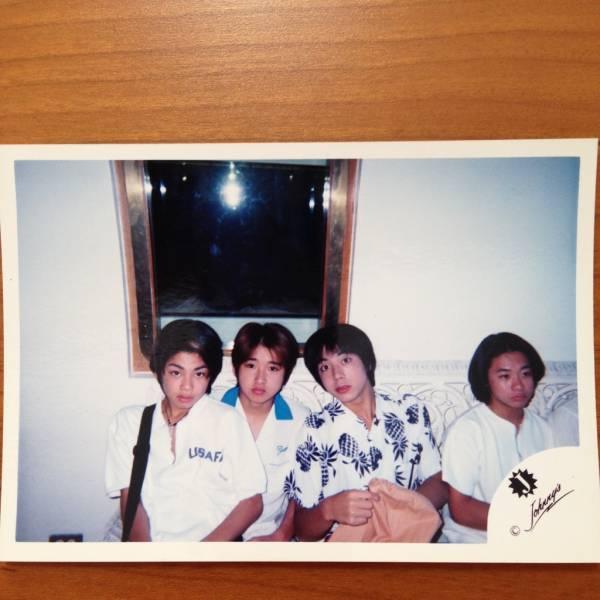 即決¥2000★嵐 公式写真 1225★大野智 Jr.時代 貴重 Jロゴ