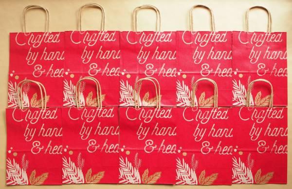 未使用 スターバックス ショップ 紙袋 クリスマス 2016 10枚